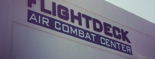 Flightdeck Air Combat Center is one of SoCal Musts.