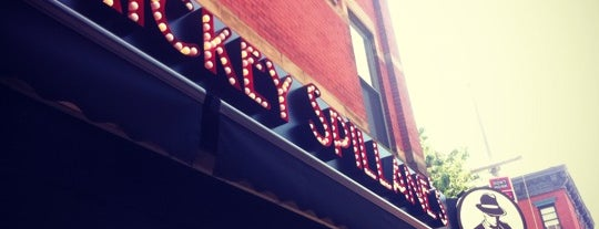 Mickey Spillane's is one of Manhattan Bars.
