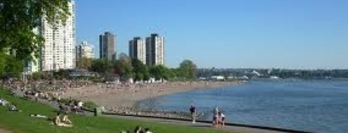 English Bay Beach is one of GVRD Parks.