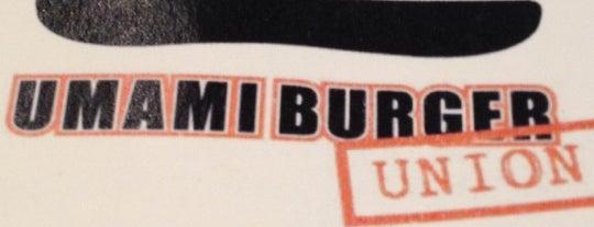 Umami Burger is one of Must-Visit Food in San Francisco.
