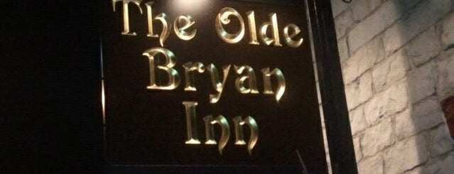 Olde Bryan Inn is one of Saratoga springs.