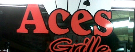Aces Grille is one of The Burger List!.