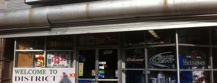 District Liquors is one of Dave : понравившиеся места.