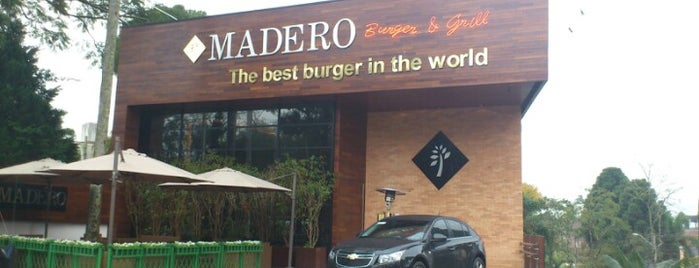 Madero Steak House is one of Lugares favoritos de Rodrigo.