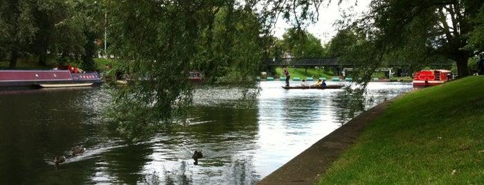 Jesus Green is one of Cambridge.