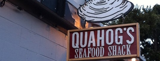 """Quahog's Seafood Shack is one of """"Diners, Drive-Ins & Dives"""" (Part 2, KY - TN)."""