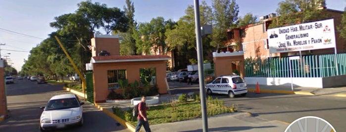 Unidad Militar J.M.M. Y P.   Sur. is one of Locais curtidos por Jesús Ernesto.