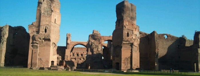 Caracalla-Thermen is one of Rome.