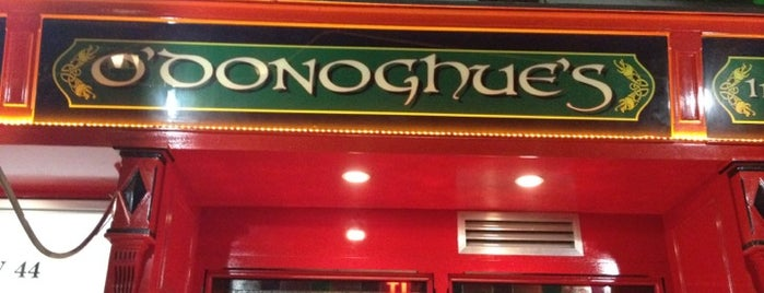 O'Donoghues Pub & Restaurant is one of Cindy : понравившиеся места.