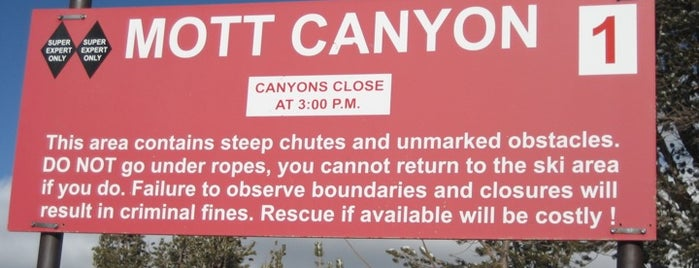 Mott Canyon Lift is one of 24 Hours of Heavenly.