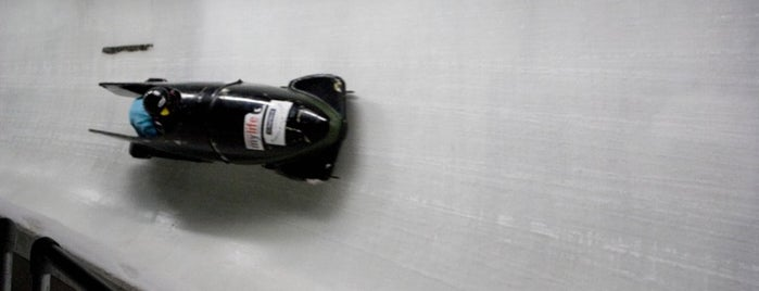 Whistler Sliding Centre is one of Olympic Spirit.