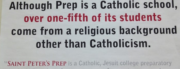 St Peter's Preparatory School is one of Tempat yang Disukai Craig.
