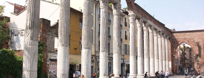 Colonne di San Lorenzo is one of Gamze 님이 저장한 장소.