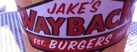 Jake's Wayback Burgers is one of Foodie - Misc 1.
