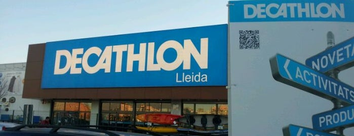 Decathlon Lleida is one of María Joséさんのお気に入りスポット.