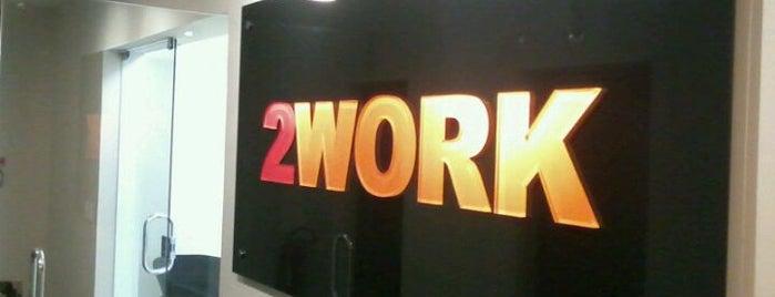 2WORK São Paulo Escritório Compartilhado & Coworking is one of Espaços de coworking.