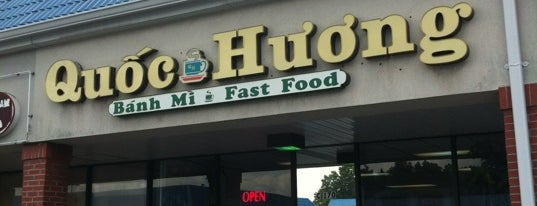 Quoc Huong Banh Mi Fast Food is one of Creative Loafing 100 Dishes Badge.