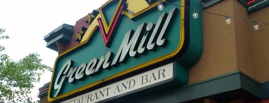 Green Mill Restaurant & Bar is one of more to do list.