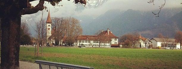 Höhematte is one of Interlaken.