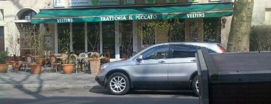 Trattoria Vale Un Peccato is one of Lugares favoritos de Vangelis.