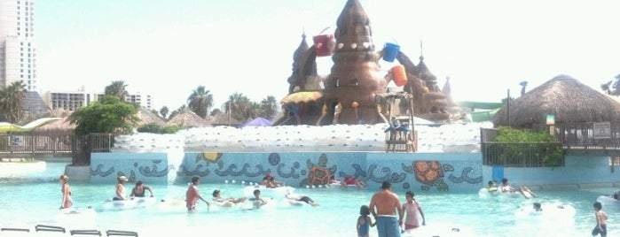 Schlitterbahn South Padre Island is one of Kim 님이 저장한 장소.