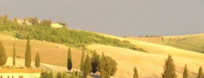 Monticchiello is one of Italy.