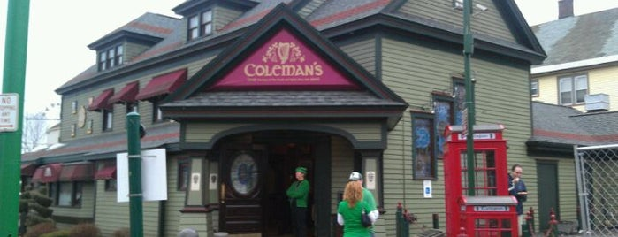 Coleman's Authentic Irish Pub is one of nightlife.