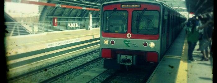 Estación La Cultura - Metro de Lima is one of Orte, die Erikito gefallen.
