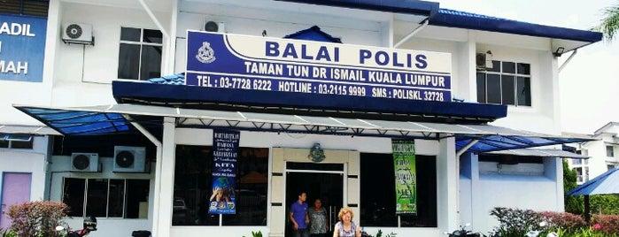 Balai Polis Taman Tun Dr.Ismail is one of Rahmat : понравившиеся места.