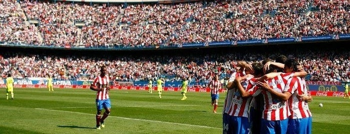 Estadio Vicente Calderón is one of Volta ao Mundo oneworld: Madrid.