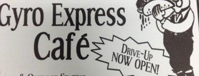 Yanni's Gyro Express Cafe is one of Posti che sono piaciuti a Kristin.