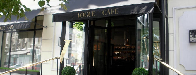 Vogue Café is one of Moscow TOP places.
