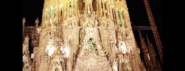 사그라다 파밀리아 is one of Best views in Barcelona.