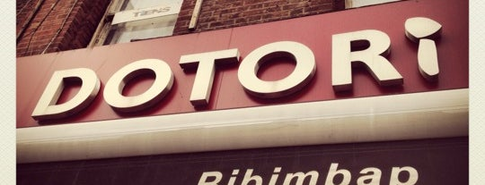 Dotori is one of Gaelle's fav restaurants in London.