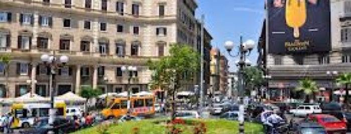 Piazza Luigi Vanvitelli is one of NAPLES - ITALY.