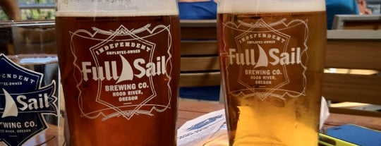 Full Sail Brewing Co. is one of Lieux sauvegardés par Ritika.