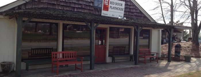 Red Door Playhouse is one of Visit Roswell, GA.