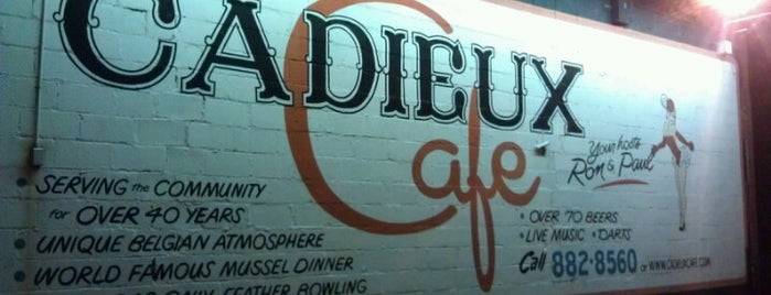 Cadieux Cafe is one of Detroit Eater 38.