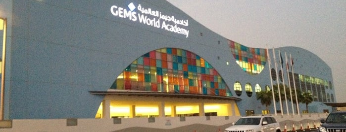GEMS World Academy is one of Omar'ın Beğendiği Mekanlar.