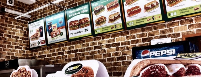 Subway is one of Comida.