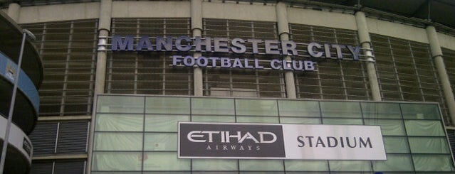 Etihad Stadium is one of Barclays Premier League Grounds & Stadiums 2013/14.
