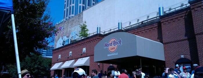 Hard Rock Cafe Nashville is one of Hard Rock Cafes I've Visited.