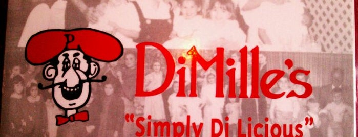 DiMille's Italian Restaurant is one of Damion 님이 저장한 장소.