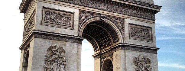 Arco di Trionfo is one of une semaine à Paris.