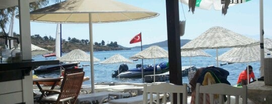 Mu Art Cafe Plaj is one of Bodrum Bitez.