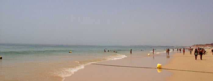 Praia da Rocha Baixinha is one of Algarve.