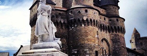 Château de Vitré is one of Bienvenue en France !.