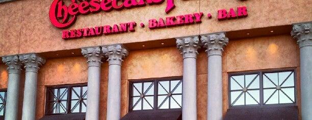 The Cheesecake Factory is one of AmberChella 님이 좋아한 장소.