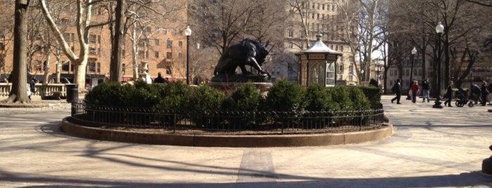 Rittenhouse Square is one of Philadelphia.