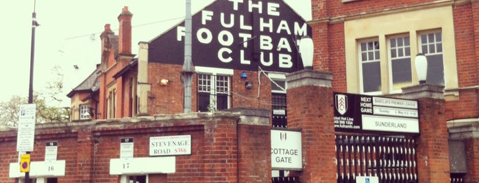 Craven Cottage is one of Sky Bet Championship Stadiums 2015/16.